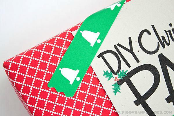 Piggy Bank Parties DIY Christmas Paper Tape4