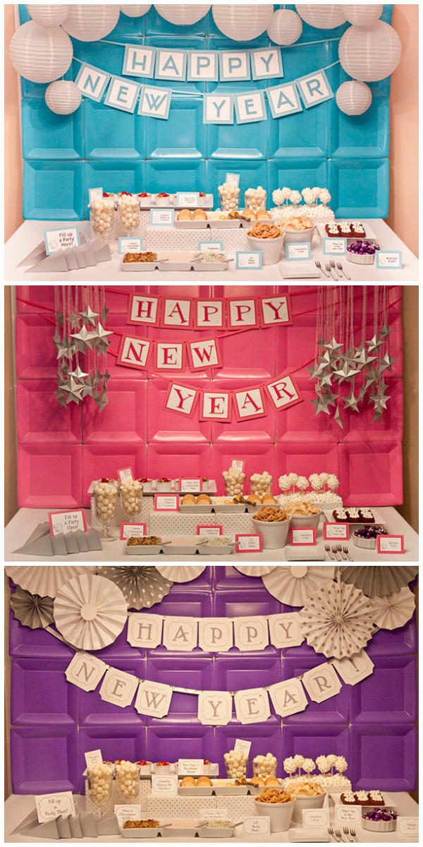 Piggy Bank Parties New Years Collections