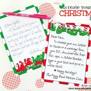Piggy Bank Parties Twelf Days 2013 - Christmas Letter