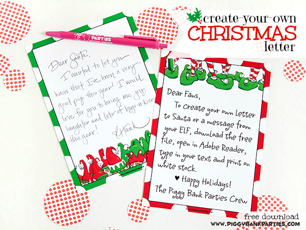 {twELF days} a Christmas letter