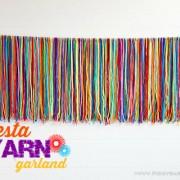 Piggy Bank Parties DIY Fiesta Yarn Garland