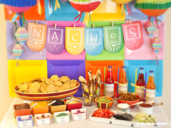 Piggy Bank Parties Fiesta Nachos Bar
