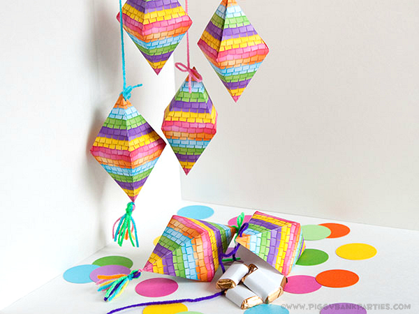 Piggy Bank Parties Pinata Favor Box5