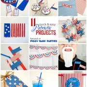 Piggy Bank Parties Patriotic Roundup
