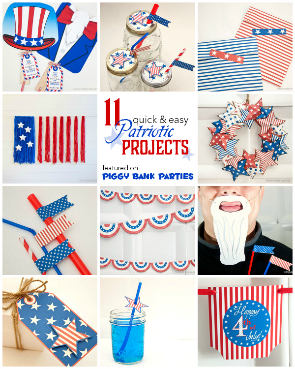 11 quick and easy patriotic projects