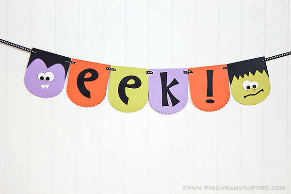 Piggy Bank Parties EEK Banner