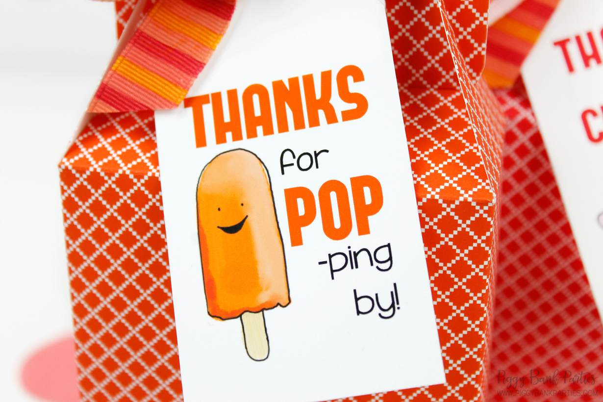 Refreshing Frozen Pop Tags and Gift Ideas by Piggy Bank Parties   Free Download
