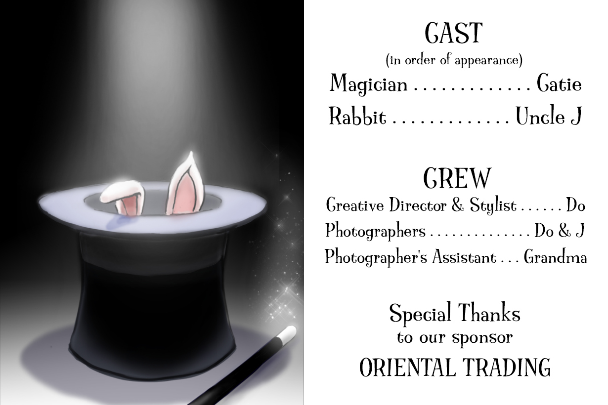 Magic Trick End Credits by Piggy Bank Parties