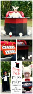 Magic Trick Trunk or Treat Inspiration by Piggy Bank Parties