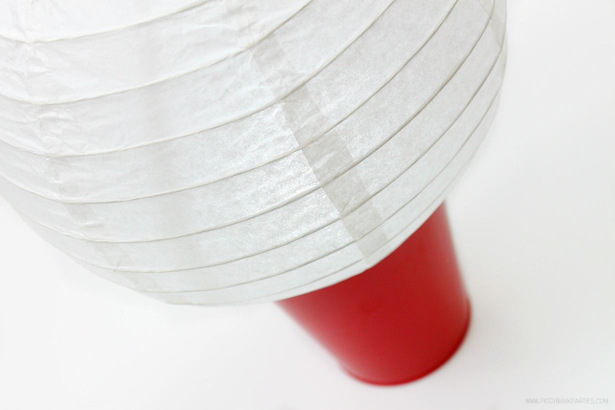 5-Minute Outdoor Lights: Paper Lantern Footlights by Piggy Bank Parties | Trunk or Treat Lights | Halloween Outdoor Lighting | Light up your outdoor event in less than 5 minutes!