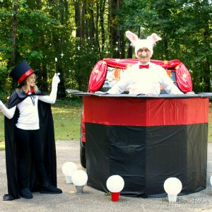 Magic Trick Trunk or Treat Inspiration | Blog Hop
