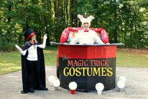 The Magic Trick Costumes by Piggy Bank Parties