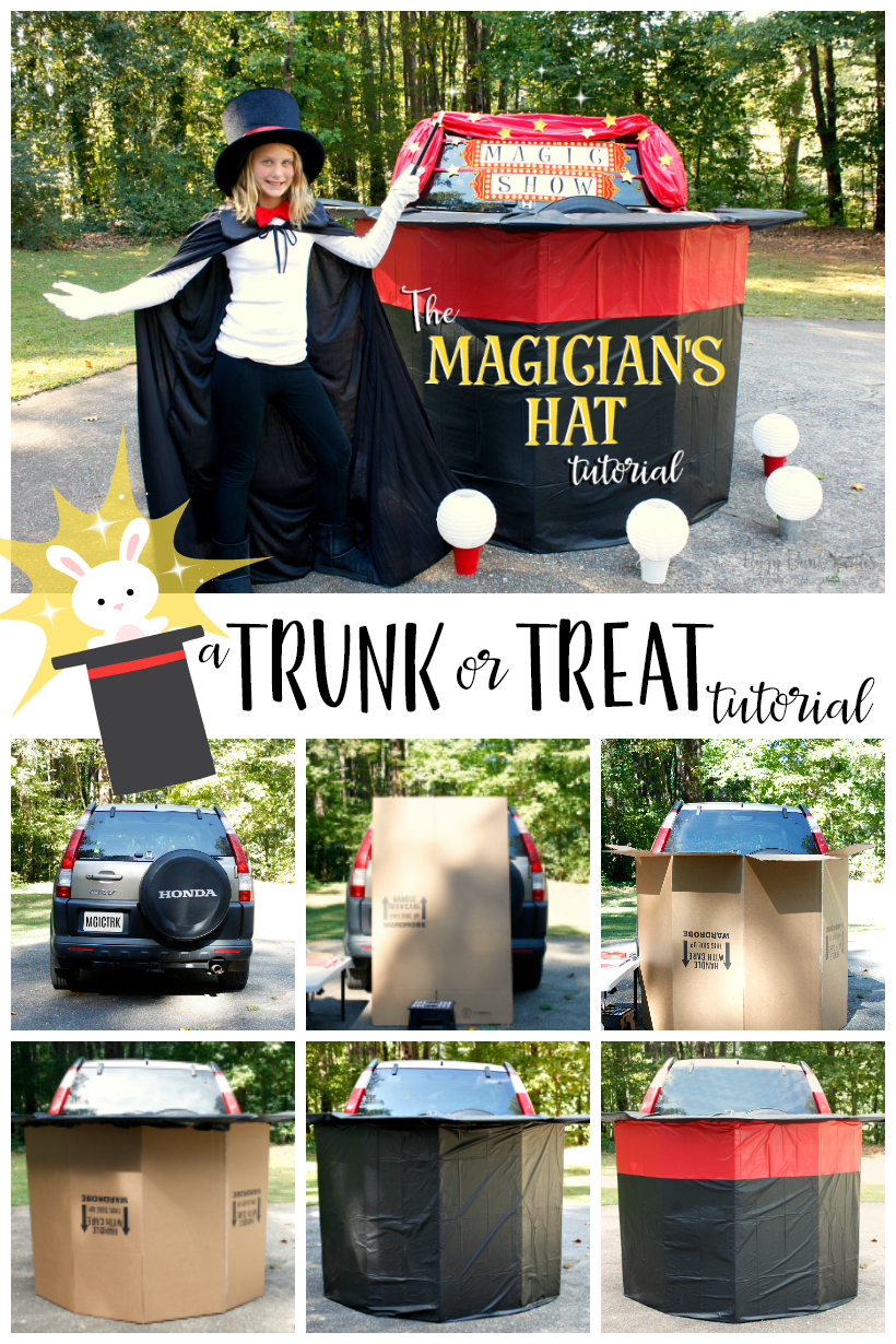 The Magicians Hat Tutorial by Piggy Bank Parties