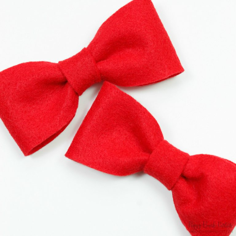 The 5-Minute No-Sew Bow Tie