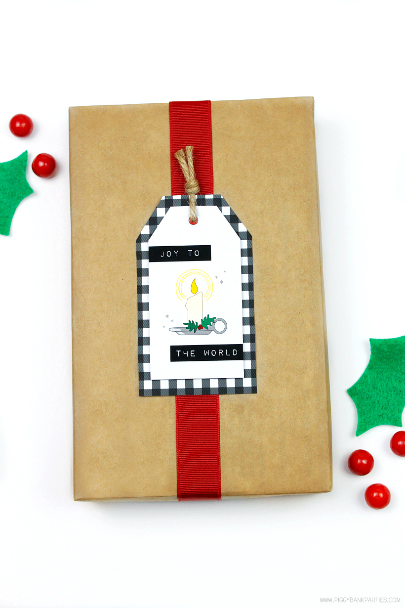 Spectacular Gift Tags by Piggy Bank Parties - Christmas Gift Tags Free Download