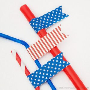 Americana Party Flags by Piggy Bank Parties