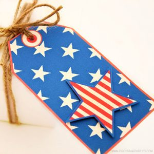 Americana Tags by Piggy Bank Parties