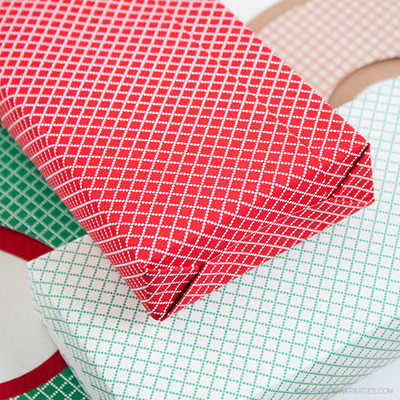 Christmas Cross-stich Paper by Piggy Bank Parties