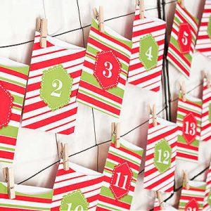Festive Favor Bags by Piggy Parties