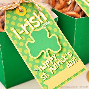 I-RISH You Tag by Piggy Bank Parties