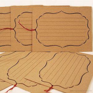 Journaling Card by Piggy Bank Parties