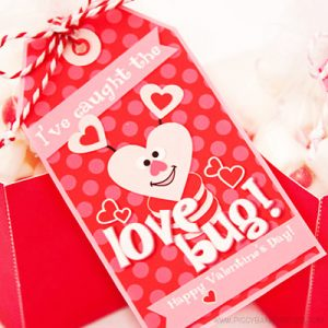 Love Bug Tag by Piggy Bank Parties