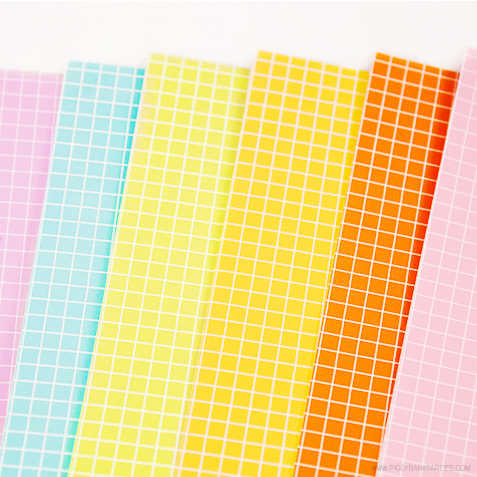 Spring Graphs Paper by Piggy Bank Parties
