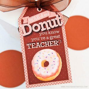 Donut You Know Tag by Piggy Bank Parties