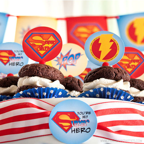 Super Dad Collection by Piggy Bank Parties