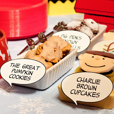 A CHARLIE BROWN BIRTHDAY - ENCHANTED EVENTS & DESIGNS