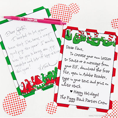 CHRISTMAS ELF LETTER - HUFFINGTON POST