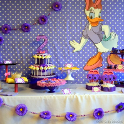 DAISY DUCK BIRTHDAY PARTY