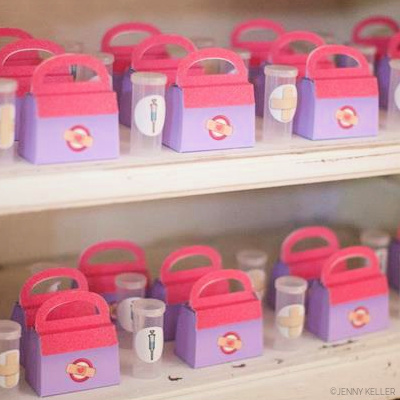 DOC McSTUFFINS PARTY - JENNY COOKIES