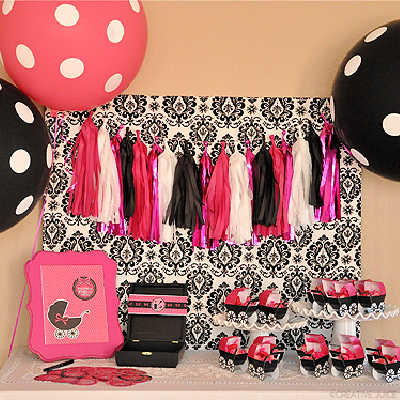 GLAM BABY SHOWER - BIRDS PARTY MAGAZINE