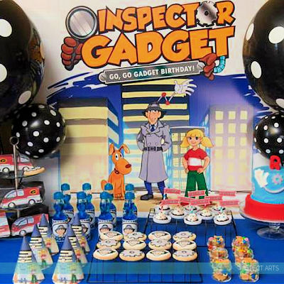 INSPECTOR GADGET BIRTHDAY PARTY