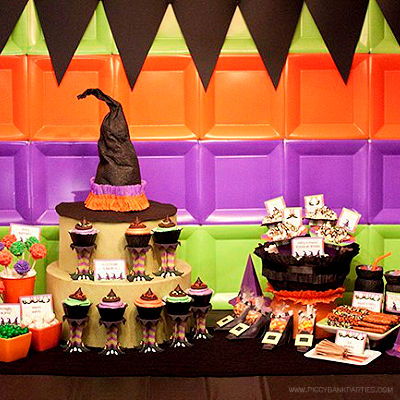 HALLOWEEN BIRTHDAY PARTY IDEAS - DISNEY'S SPOONFUL