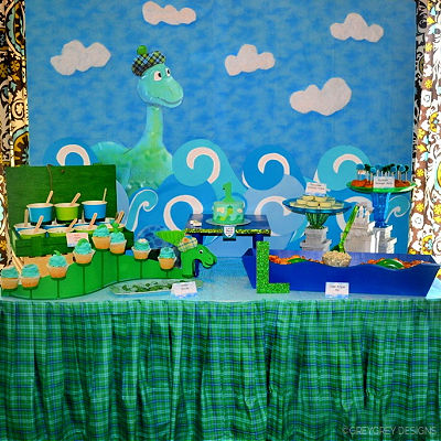 LOCH NESS MONSTER PARTY