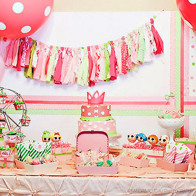 LALALOOPSY THEMED BIRTHDAY PARTY - CELEBRATIONS AT HOME