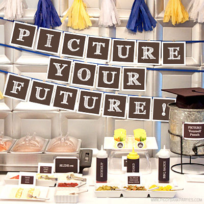 PICTURE YOUR FUTURE GRADUATION IDEAS