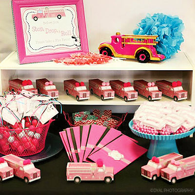 PINK FIRETRUCK PARTY